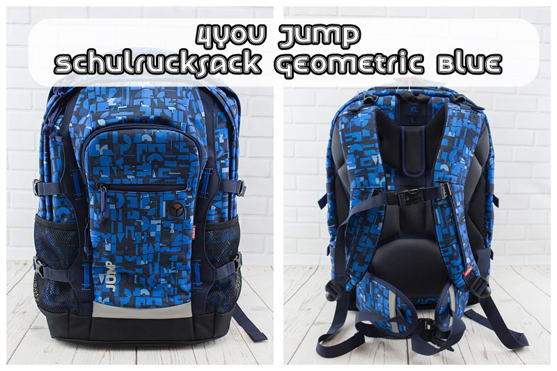 4YOU-Jump-Schulrucksack-Geometric-Blue-Thump