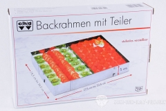 Backrahmen-Test