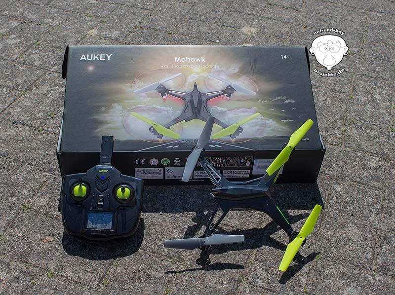 Drohne-Aukey-Produkttest
