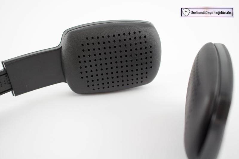 Bluetooth-Kopfhörer-Muscheln