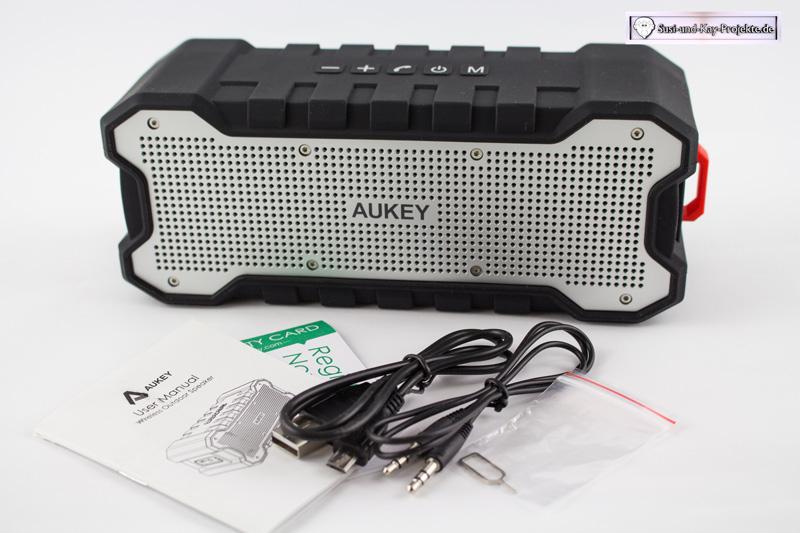 Aukey-Bluetooth-Lautsprecher-Test