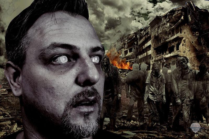 Zombie-Apokalypse-Linsen
