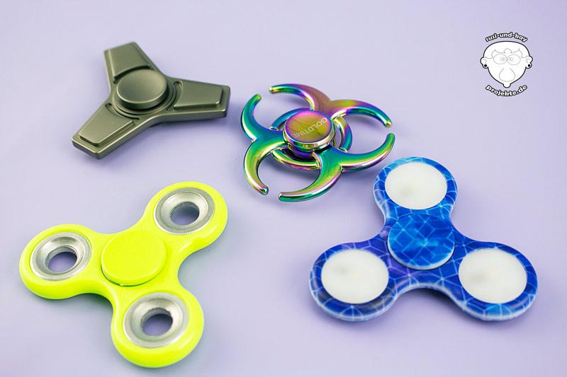 Fidget-Spinner-verschiedene-ausführungen