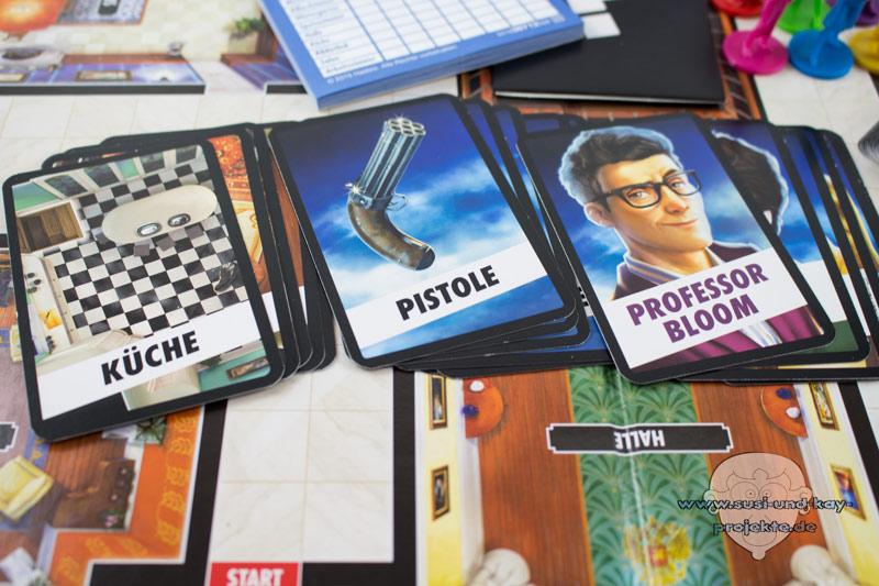 Gesellschaftsspiele-Cluedo-Karten