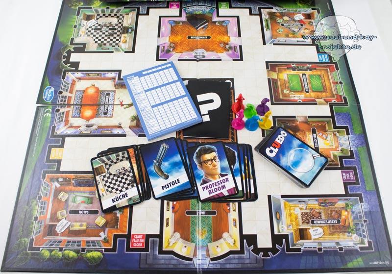 Gesellschaftsspiele-Cluedo