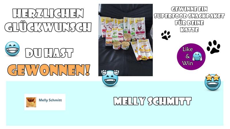 Gewinnerin-Katzensnacks