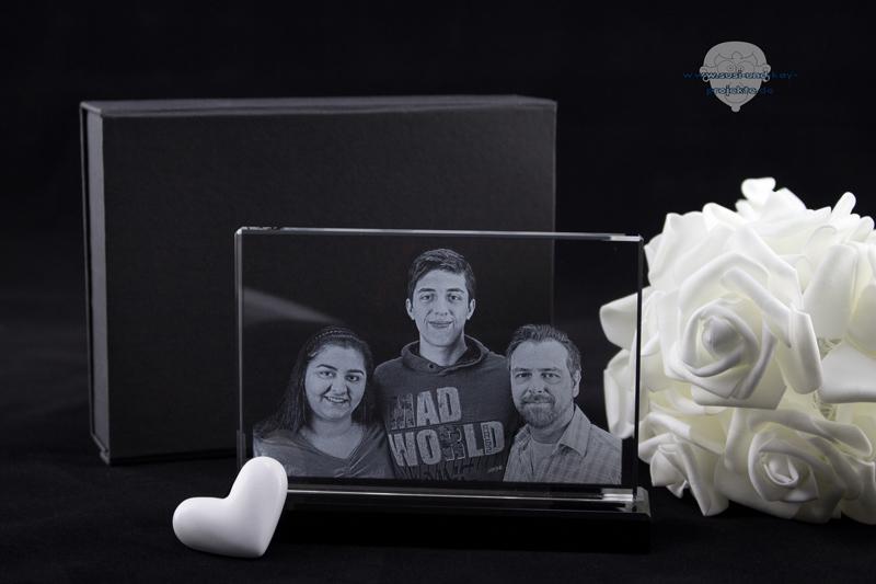 Glas-Foto-Geschenkbox