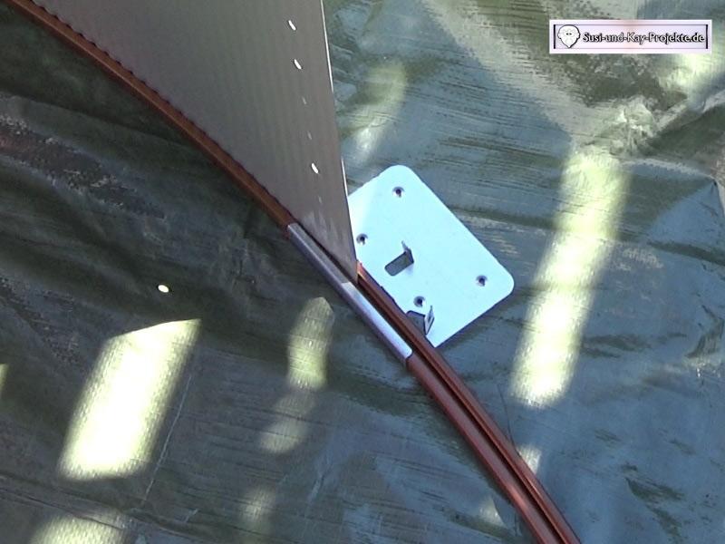 Pool-Stahlwand-aufbau