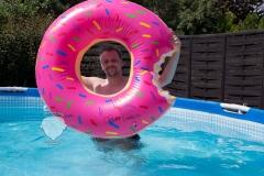 donut-rosa-wasser-spaß-pool