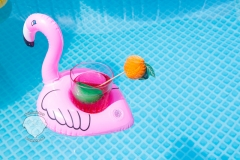 pelikan-mit-cocktail-wasser-spaß