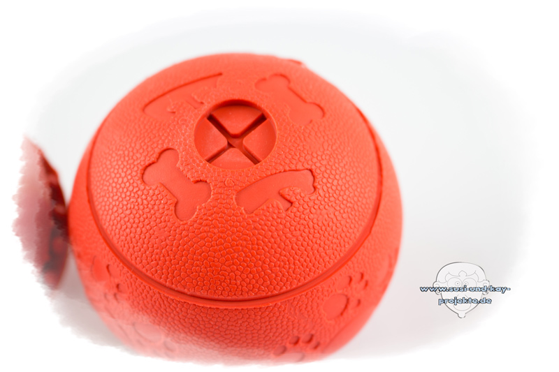 Hunde-Spielball-Rot