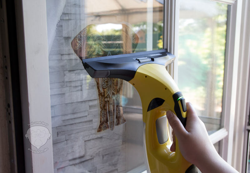 Kärcher-Fenstersauger-reinigung