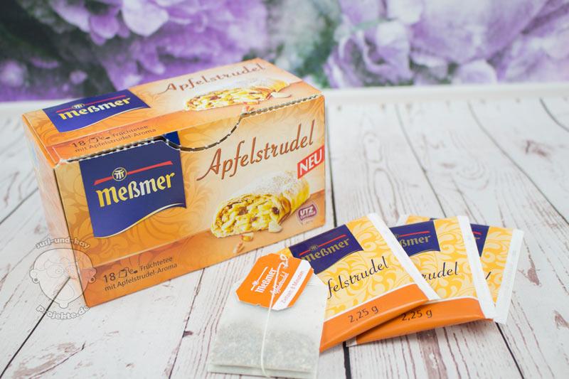 Meßmer-Kuchentee-Apfelstrudel