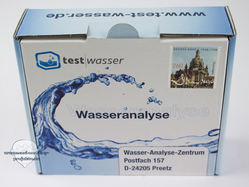 Leitungswasser-Analyse-Paket