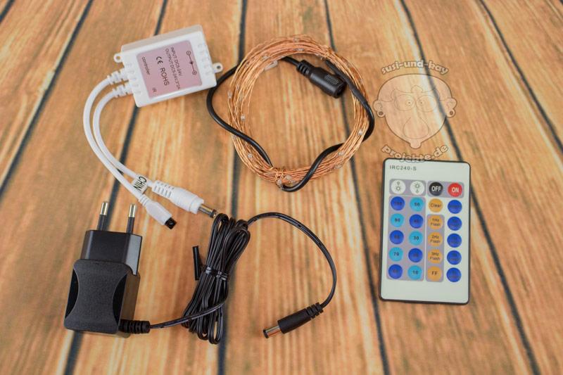 Lichterketten-Ferbedienung-mit-Empfänger