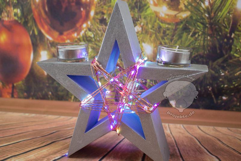 Lichterketten-Stern-mit-Buntem-Licht