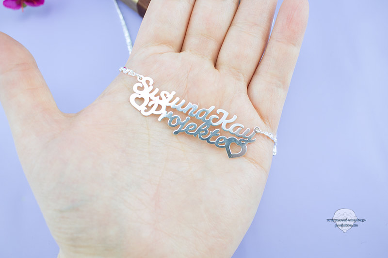 Namenskette-Silber-Schmuckstück