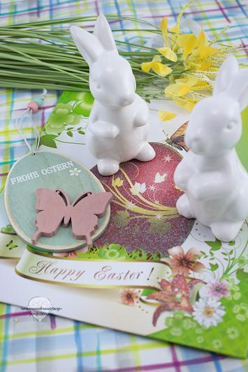 Ostern-Porzellan-Hasen-Verlosung