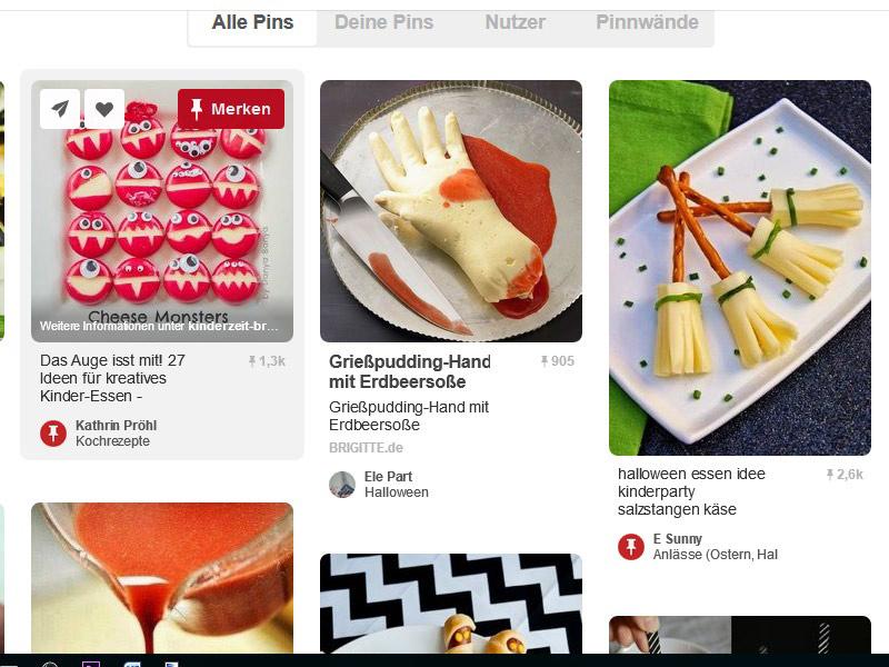 Pinterest-Pins-merken