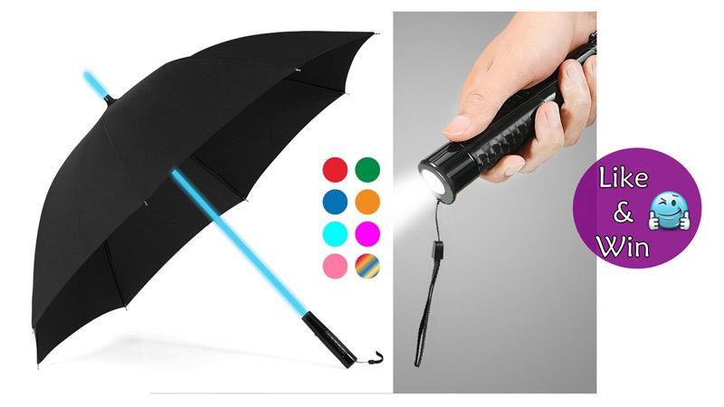 Plemo-Regenschirm-Gewinnspiel