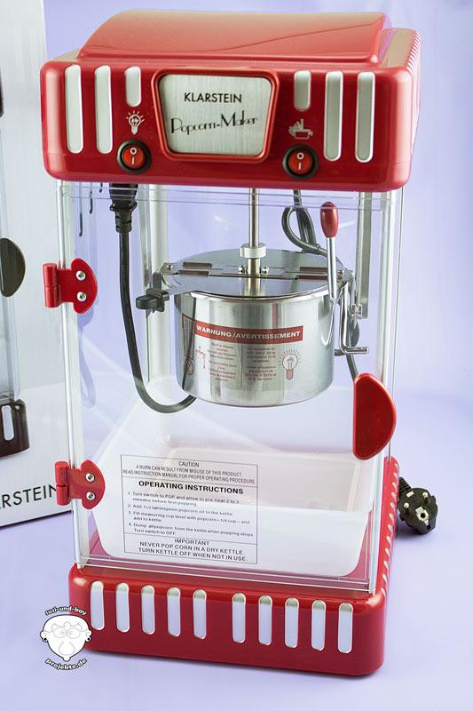 Popcorn-Maschine-Klarstein