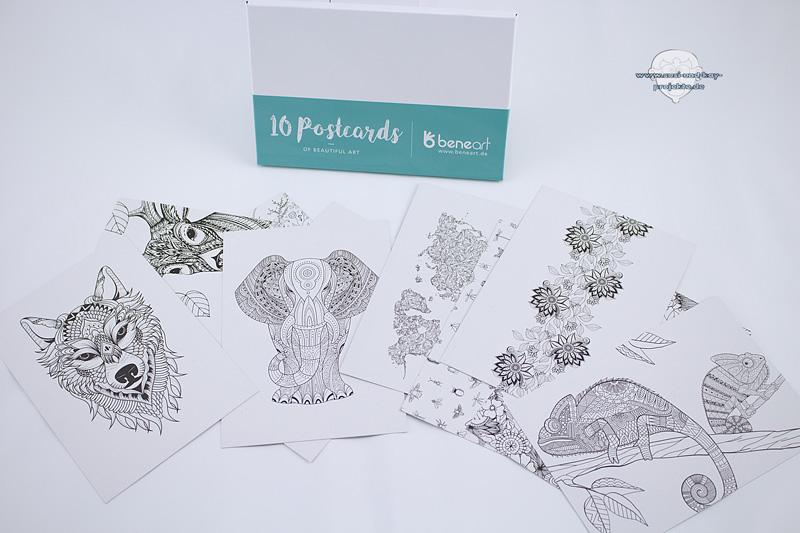 Postkarten-Produkttest