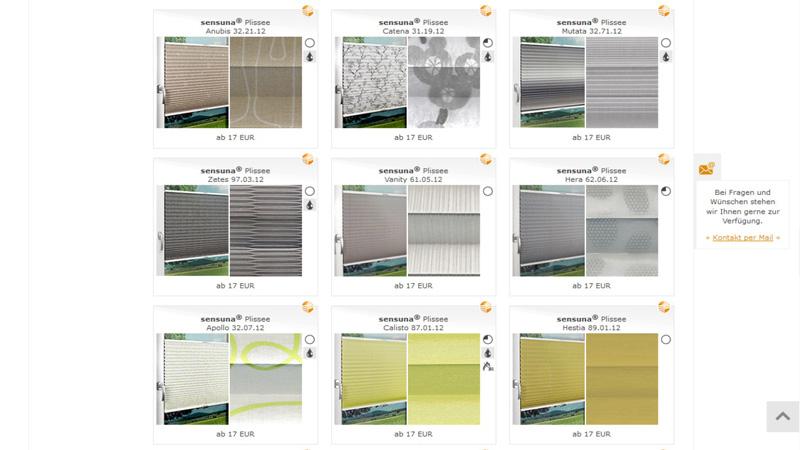 Raumtextilienshop-Screenshot-Plissee-Muster