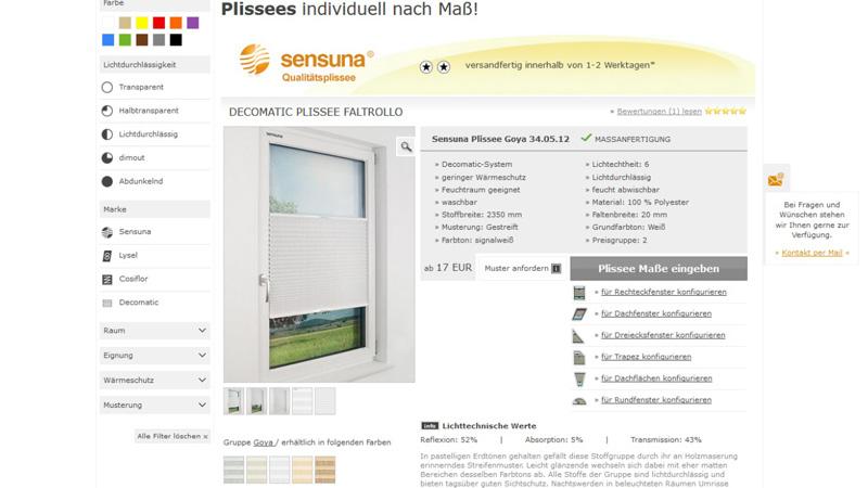 Raumtextilienshop-Screenshot-Sensuna-Plissee