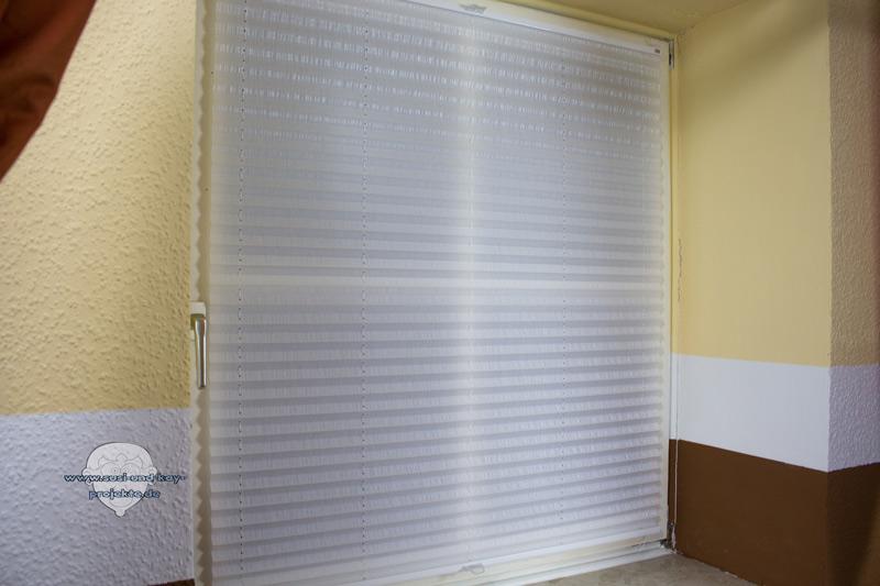 Raumtextilienshop-Sensuna-Plissee-am-Holzfenster