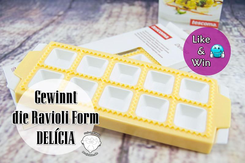 Ravioli-Form-DELÍCIA-Gewinnspiel