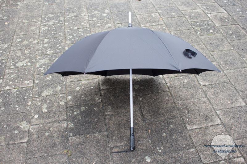 Regenschirm-Vorne