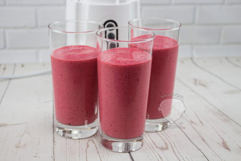 Kirschen-Frucht-smoothie-Standmixer
