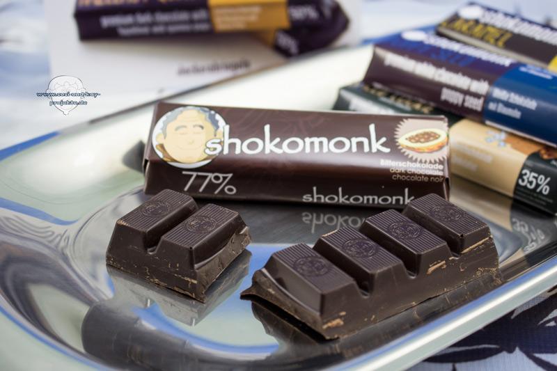 Shokomonk-Bitterschokolade