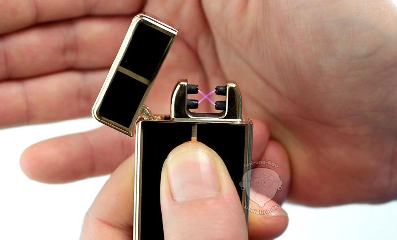 USB-Feuerzeug-doppelter-Lichtbogen