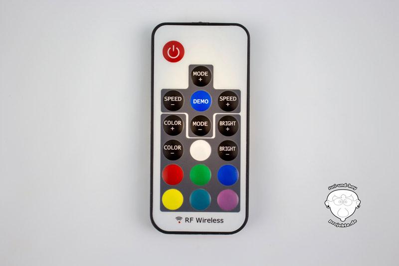 Fernbedienung-Farbwechsel-Lampe