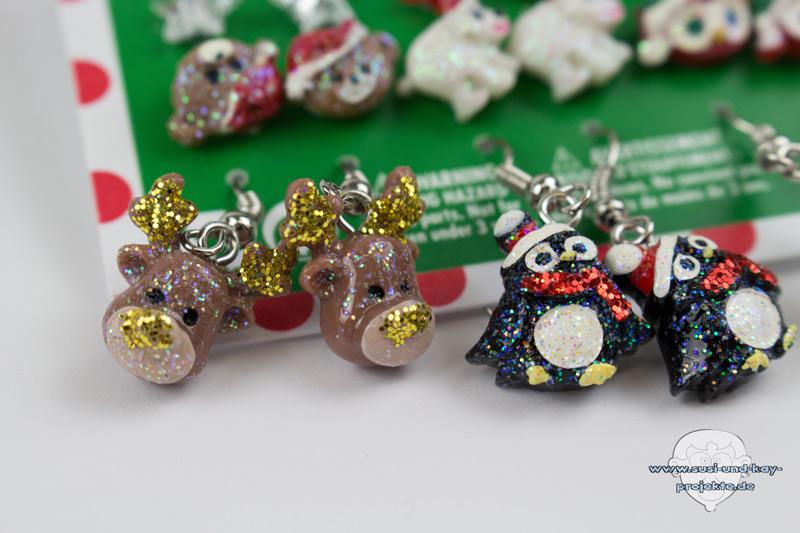 Weihnachtsohrringe-Pinguin-und-Rentier