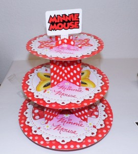Minnie Mouse Etagere