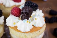 Totenkopf-3D-Schokolade