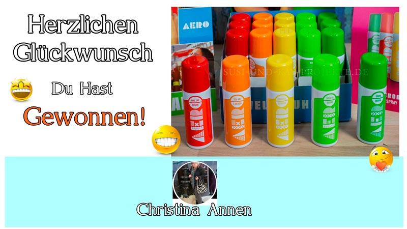 Gewinnerin-Aero-Drinks