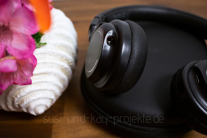 Aukey-Kopfhörer-Musik-Anschlüsse