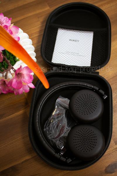 Aukey-Kopfhörer-mit-toller-Tasche-Musik