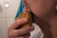 Bartpflege-Bartkamm