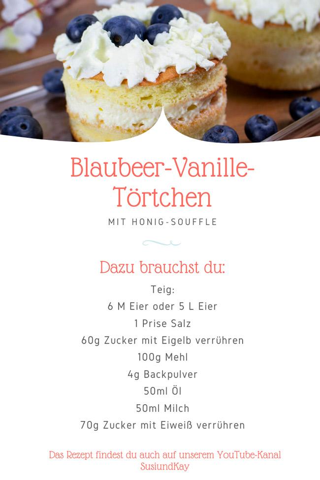 Süße-Rezepte-Blaubeer-Vanille-Törtchen