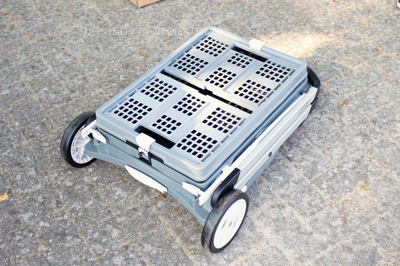 Clax-Transport-Wagen-Räder