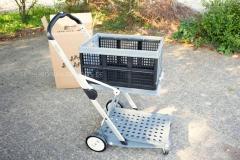 Clax-Transport-Einkauf-Wagen-mit-Box