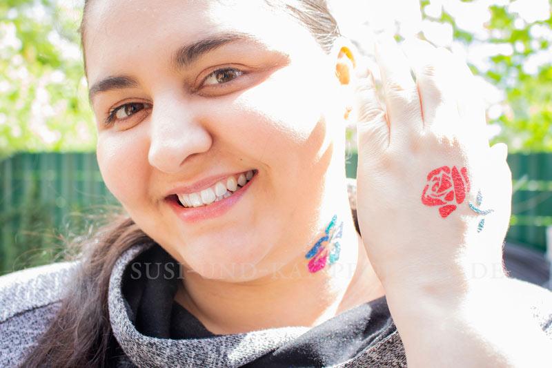 Glitzer-Tattoo-auch-für-große