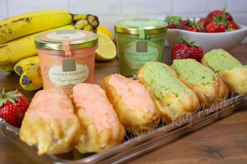 Süße-Rezepte-mit-Honig-Soufflé-Eclairs