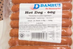 Hot-Dog-Würstchen-Fingerfood