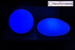 Gartenleuchten-Blau