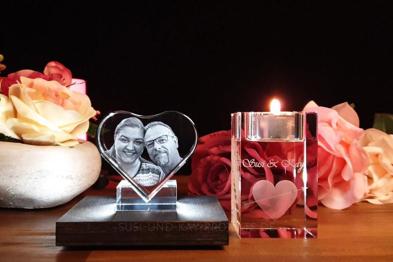 Edle-Glas-Geschenke-Romantik-Set